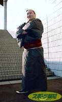 2年連続で年間最優秀力士賞を受賞し、さらなる飛躍を目指す朝青龍