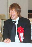 5年ぶり2度目の受賞に喜ぶ松井稼頭央